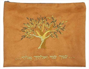 Tallit Bag Embroidered Velvet Ruth