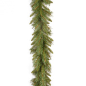 National Tree Tiffany Fir Garland with 200 Branch Tips, 2.7m by 25cm