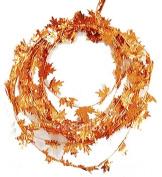 Fall Harvest Wire Leaf Garland 7.6m Long