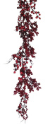 Melrose International Red and Burgundy Berry Garland, 170cm