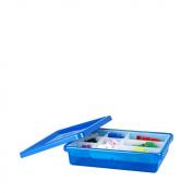 LEGO Storage Bin, Small, Blue