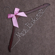 Personalised Wedding Hangers-Custom Personalised Bridal Dress Hanger Gifts for Bride Mother of the Bride's Gifts gifts for groom