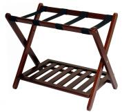Luggage Rack with Shelf