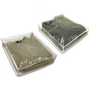Innovative Home Creations Sweater Storage Bags, 2-Pack