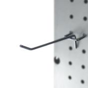 Capri Tools 25-Pack 10cm Metal Peg Board Shelving Hooks, Fits 1/4 to 0.3cm Board