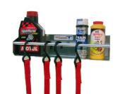 Pit Posse 465 Tie Down Hanger Holder Rack Aluminium Enclosed Race Trailer Shop Garage Storage Organiser