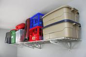 SafeRacks - Wall Shelf, Two Pack (46cm x 120cm ) White
