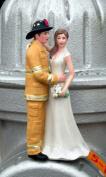 Firefighter Cake Topper - Tan