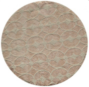 Momeni Rugs LMOINLMI-6PNK500R Lil' Mo Classic Collection, Kids Themed 100% Cotton Hand Hooked Area Rug, 1.5m Round, Pink