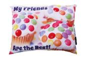 Camp Autograph Pillows Candy Cupcake