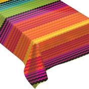 Fiesta Flannel-Backed Vinyl Table Cover - Oblong - 130cm x 230cm