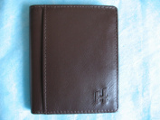 Slim Two Fold Leather Wallet by Harness