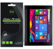 [3-Pack] Dmax Armour- Lenovo Yoga Tablet 2 25cm Anti-Glare & Anti-Fingerprint Screen Protector - Lifetime Replacements Warranty- Retail Packaging