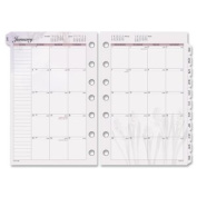 Day Runner Nature Monthly Desk Calendar Refill 2016, 14cm x 22cm Page Size