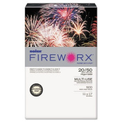 Boise FIREWORX Coloured Paper, 9.1kg, 11 x 17, Flashing Ivory, 500 Sheets/Ream