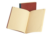 Ampad Gold Fibre Computation Book, Red Cover, Ivory Paper, Letter Size, 4 Square Inch Rule, 76 Sheets, 1 Each