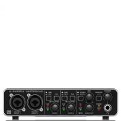 Behringer UMC204HD U-Phoria USB Audio/MIDI Interface with MIDAS Microphone Preamplifiers