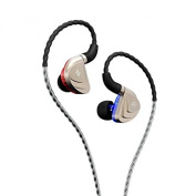 Fidue A83 Triple-Driver Hybrid 2 Balanced Armature+Dynamic Hi-End In-Ear Earphones with One Year USA Warranty