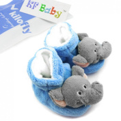 KF Baby Animal Soft Sole Booties, for 3 - 12 Months - Elephant