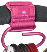 Think King Jumbo Swirly Hook, Pink