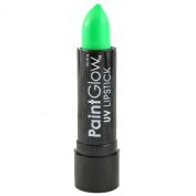 PaintGlow UV Glow Neon Bright Green Lipstick Festivals Clubbing Make Up