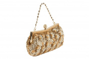 Anna Cecere - Gold Clutch ideal for wedding and ceremonies