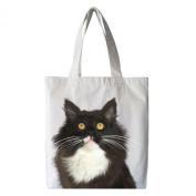 Yngve the Cat Cotton Tote Shopping Bag