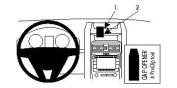 Brodit 854234 854234 Brodit ProClip Centre Mount for Pontiac 09-10 G8