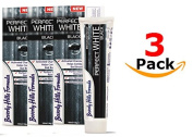 Beverly Hills Formula 100 ml Perfect White/Black Toothpaste - Pack of 3
