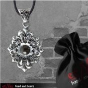 """EtNox - Stainless-Steel Pendant with Zircons (Sk4017)"""" Gothic Claw"""""""