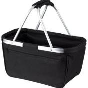 HALFAR-Fold-Up shopping Bag, shopping Basket, shopping - 1803939-Black