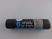 Tidyz Wheely Bin Liners Roll of 6