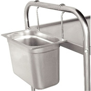 Vogue Hanging Frame Stainless Steel Trolley Container