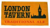 LONDON TAVERN TRADITIONAL ALE British Pub Bar Towel