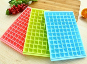 EQLEF® 2 pieces of Ice Cube Maker Mould - 96 Lattice Ice Cube Trays Plastic/Chocolate Mould