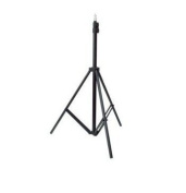 Ex-Pro - [1 PACK] 1 x Midi Professional Photography Light Stand for Photo Studio Photolamps (Min Height 0.5m / 50cm) (Max Height 1.86m / 186cm) suitable for Lighting, Lamps, Deflectors, Umbrellas, Difusser etc.