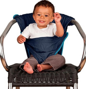 TOTSEAT DIMINITO ADJUSTABLE PORTABLE LIGHTWEIGHT WASHABLE CHAIR HARNESS - 6 -24 MONTHS - WEIGHS LESS THAN 140G - EXCELLENT FOR TRAVELLING OR AT HOME