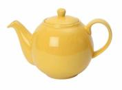 London Pottery 2 Cup Globe Teapot, Lemon Yellow