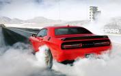 60cm x 36cm Dodge Challenger Silk Poster 5GSB-A76