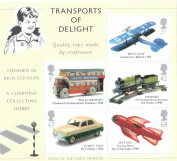 2003 TRANSPORTS OF DELIGHT MINIATURE SHEET.