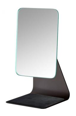 WENKO 20442100 Frisa Standing Beauty Mirror, Black