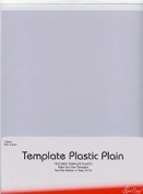 Sew Easy Plastic Template - Plain for Quilting/Patchwork