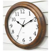 Decowall, DSH-W32BS, Silent Wood Brown Story 320/wall clock/Silence Wall Clock