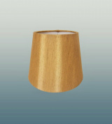 Coco 15cm Clip On Faux Silk Antique Gold Lamp Shade
