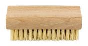 Elliott Wooden Vegetable Brush with Natural Tampico Fibre, Beige