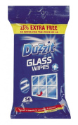 Duzzit Glass Window Mirror Cleaning Wipes Pack Of 50