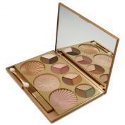 1pc City Colour Timeless Beauty Eyeshadow & Blush Gold Palette #PD864J