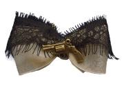 Women's Se7en Deadly Peace Maker Hair Bow Beige