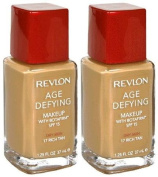 REVLON Age Defying Makeup with Botafirm SPF 15 Dry Skin RICH TAN #17