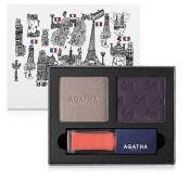 Agatha Paris French Look Book #1 Très Modern Eye Shadow & Lip Gloss